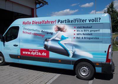 DPF24 Fahrzeug
